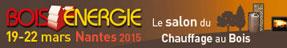 Salon Bois Energie, 19-22 Mars 2015, Nantes, France